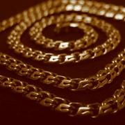 Цепочки золотые фото