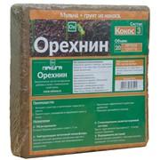 Кокосовый субстрат «Орехнин-3», 20 л фото