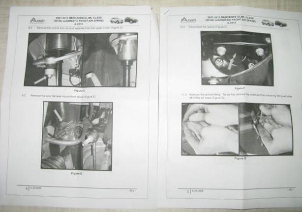 Амортизаторы,пневмостойки,пневмобаллоны передние Mercedes GL