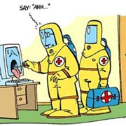 Лечение компьютеров от вирусов. фото