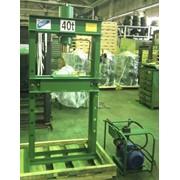 Пресс гаражный электрогидравлический Р-342М (40 т) фото