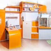 Комплект мебели для двух детей Апельсин фото