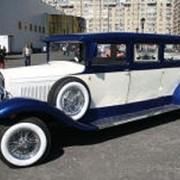 Прокат, аренда автомобилей - ретро лимузин-кабриолет Al Capone фото
