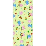 Ткань постельная Фланель 170 гр/м2 90 см Набивная/Детская 5019-3 цветной/S041 PTS фото