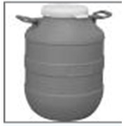 Бочка полиэтиленовая типа А с резьбовой крышкой для пищевых продуктов 30 л фото