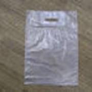 Пакет с вырубной ручкой ПНД и ПВД (медицинские пакеты и пакеты под макароны) фото