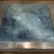 "Панель 600 х 600 х 10 мм камень Dybrilitt ""Dark Wraith"" фото"