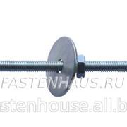 Складной пружинный дюбель с крюком М6 фото