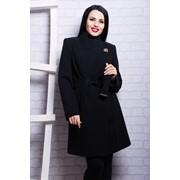 Пальто длинное из турецкого кашемира пр7432 фото