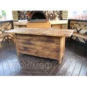 Стол деревянный кухонный