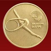 Медали спортивные золотые фото