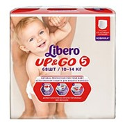 Libero Трусики-подгузники Up&Go Size 5 (10-14 кг) 68 шт фото