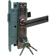 Нижний врезной замок для металлических дверей ЗАЗ фото