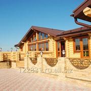 Строительство мини-гостиниц с рубленного бревна фото