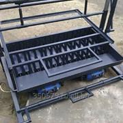 Оборудование для изготовления стеновых евроблок ВСШ-6Е фото