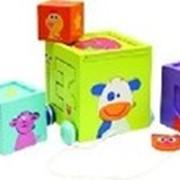 Детские деревянные развивающие кубики фирмы «Славянская игрушка» . фото