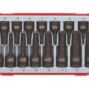 Набор ударных торцевых головок для шестигранных шлицов Teng Tools TT9015HX фото