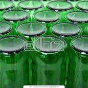 Бутылки стеклянные фото