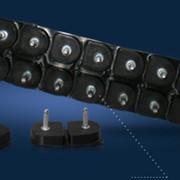 Полиуретановые набойки формованные (пластина) 10 пар (17×19) фото