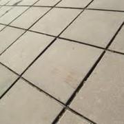 Тротуарная плитка из граншлака фото