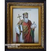Икона Владимир Великий Равноапостольный - Писаная Икона Код товара: Осч-01 фото
