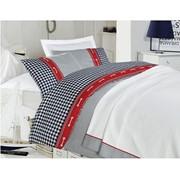 Комплект постельного белья Blue Check, 1,5 сп. фото