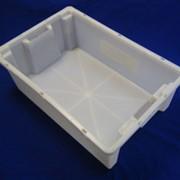 Ящик полимерный многооборотный для мясных и молочных изделий №2 фото