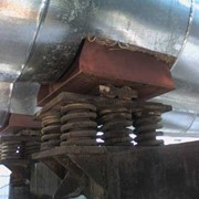 Блоки пружинные для опор трубопроводов фото