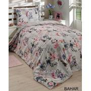 Нежный комплект постельного белья из поликоттона евроразмер Bahar фото