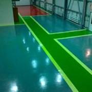 Цветные покрытия для бетона и асфальта фото