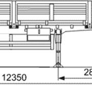 Полуприцеп двухосный бортовой 9334-0000020-10 фото
