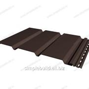 Софит «Альта-Профиль» коричневый гладкий
