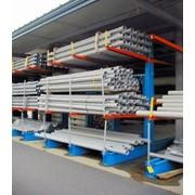 Стеллажи консольные для хранения длиномерных грузов