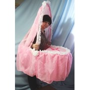 Розовая коляска фото