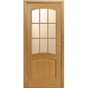Дверь межкомнатная Капри ПО, ПОО, светлый дуб фото