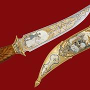Нож Кавказ 400*226*46*4 фото