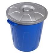 Бак пластиковый с крышкой С330 фото