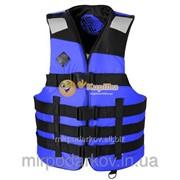 """Спасательный жилет """"AIR new BLUE"""" (рыбалка и охота и спорт) Сж11 фото"""