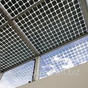 Прозрачные фасадные солнечные батареи фото