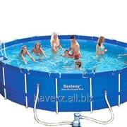 Каркасный бассейн Bestway 56113, Steel Pro Frame Pool 549 x 122 фото