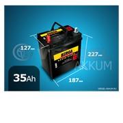 Батарея Berga Basic-block 35Ah прямая полярность фото