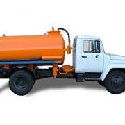 Вакуумная машина на шасси ГАЗ 3309 (v=3,8 м3) фото