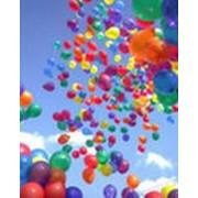 Изготовление надписи на воздушном шаре фото