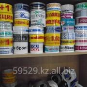 Изготовление клейкой ленты скотч с надписью фото