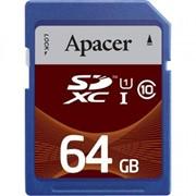Карта памяти Apacer 64GB SDHC UHS-I Class10 RP (AP64GSDXC10U1-R) фото