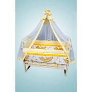Комплект в кроватку «Мишка в гамаке» фото