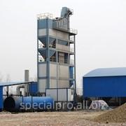 Стационарный асфальтобетонный завод АБЗ С200, производительностью 200 тонн/час фото