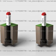 Замерные указательные столбики, Столбики указательные, BSB Telecom, БСБ Телеком, ТОО фото