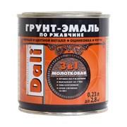 Грунт-эмаль по ржавчине 3 в 1 с молотковым эффектом DALI 2 л фото