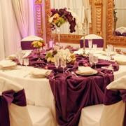 Оформление праздников шарами, цветами и тканью фото